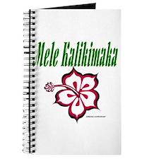 Hawaiian Merry Christmas Journal