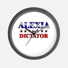 ALEXIA for dictator Wall Clock