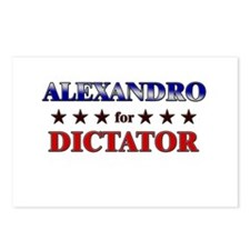 ALEXANDRO for dictator Postcards (Package of 8)