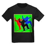 SNOWBORDERS Kids Dark T-Shirt
