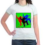 SNOWBORDERS Jr. Ringer T-Shirt