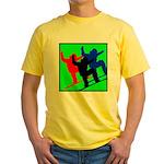 SNOWBORDERS Yellow T-Shirt