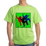SNOWBORDERS Green T-Shirt