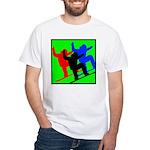 SNOWBORDERS White T-Shirt