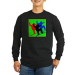 SNOWBORDERS Long Sleeve Dark T-Shirt