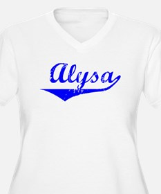 Alysa Vintage (Blue) T-Shirt