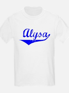 Alysa Vintage (Blue) T-Shirt