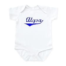 Alysa Vintage (Blue) Onesie