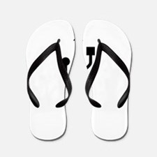 USB to love you Flip Flops
