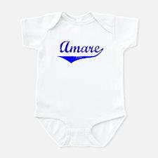 Amare Vintage (Blue) Infant Bodysuit