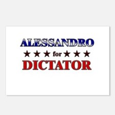 ALESSANDRO for dictator Postcards (Package of 8)