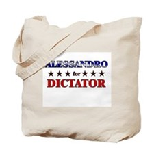 ALESSANDRO for dictator Tote Bag