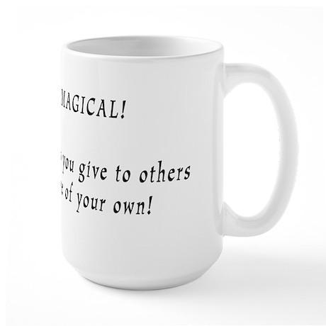 Erections are Magical Large Mug