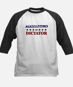 ALESSANDRO for dictator Kids Baseball Jersey