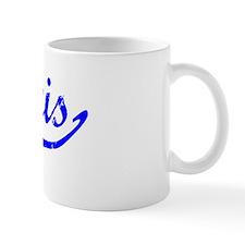 Amaris Vintage (Blue) Coffee Mug