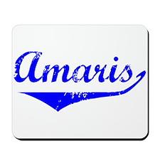 Amaris Vintage (Blue) Mousepad