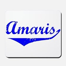Amaris Vintage (Blue) Mousepad