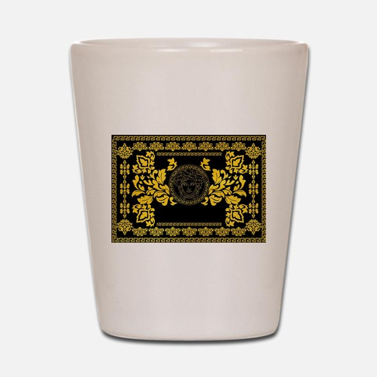 Gold Medusa Shot Glass