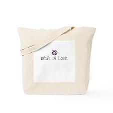 Reiki Is Love Tote Bag