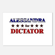 ALESSANDRA for dictator Postcards (Package of 8)