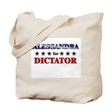 ALESSANDRA for dictator Tote Bag