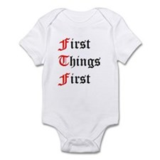 Unique Twelve steps Infant Bodysuit