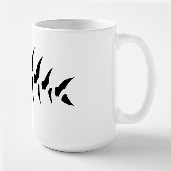 Pirate Fish Large Mug