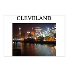 cleveland gifts t-shirts pres Postcards (Package o