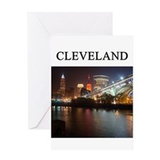cleveland gifts t-shirts pres Greeting Card