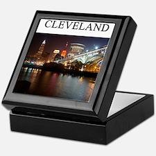 cleveland gifts t-shirts pres Keepsake Box