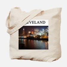 cleveland gifts t-shirts pres Tote Bag