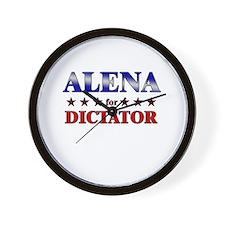 ALENA for dictator Wall Clock