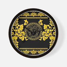 Gold Medusa Wall Clock