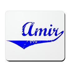 Amir Vintage (Blue) Mousepad