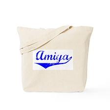 Amiya Vintage (Blue) Tote Bag