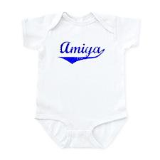 Amiya Vintage (Blue) Infant Bodysuit
