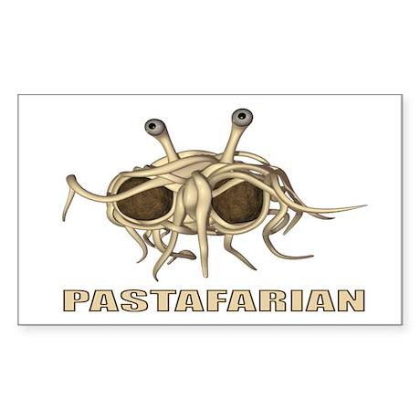 Pastafarian 3x5 Sticker