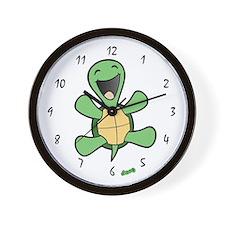 Skuzzo Happy Turtle Wall Clock