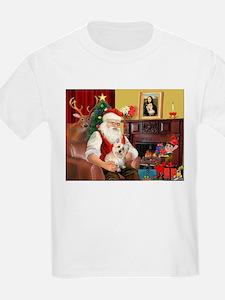 Santa's Cairn Terrier T-Shirt