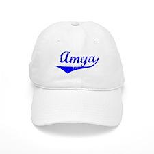 Amya Vintage (Blue) Baseball Cap
