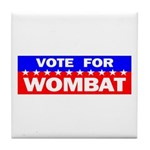 Vote for Wombat Tile Coaster