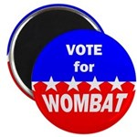Vote for Wombat Magnet