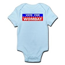 Vote for Wombat Infant Bodysuit
