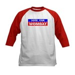 Vote for Wombat Kids Baseball Jersey