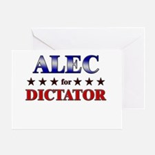ALEC for dictator Greeting Card