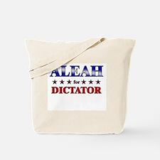 ALEAH for dictator Tote Bag