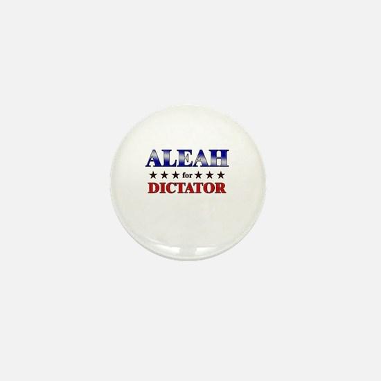 ALEAH for dictator Mini Button