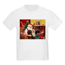 Santa's 2 Cockers T-Shirt