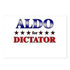 ALDO for dictator Postcards (Package of 8)