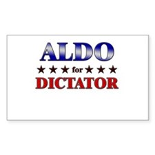 ALDO for dictator Rectangle Decal